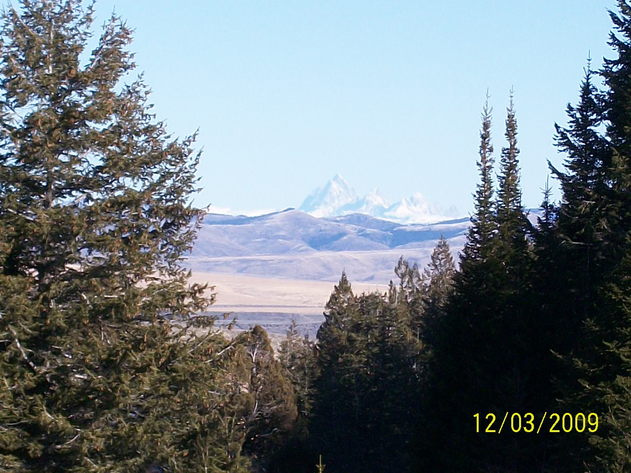 View of Tetons from Ranch